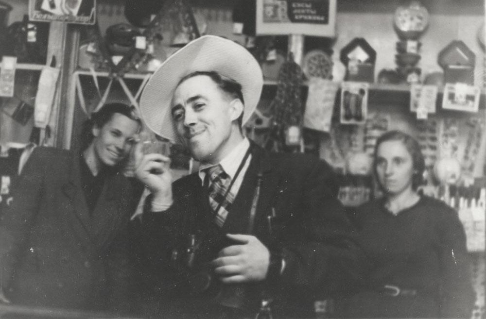 Новобелица в Гомеле и магазин парфюмерии в 1953 году