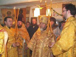 Служение в церкви деревни Храковичи