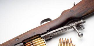 Узброены супраціў і винтовка Мосина