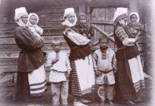 Беларуская сям'я на здымках Ісака Сербава