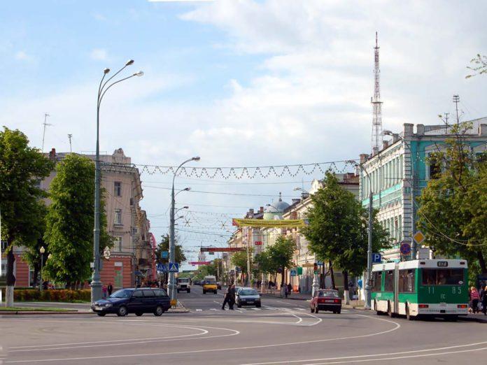 Улица Советская в Гомеле