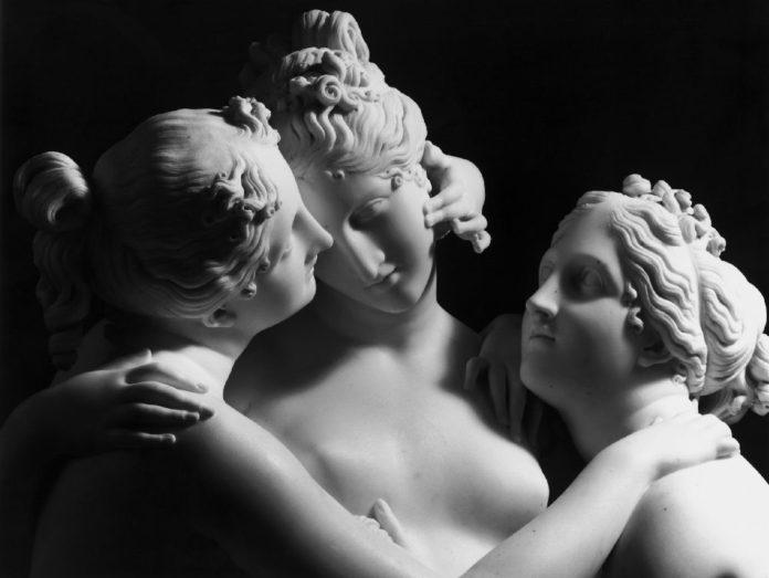 Грацыі - скульптура з Гомеля, якая знікла і грации