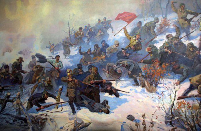 Гражданская война и её бои на Гомельщине в Беларуси