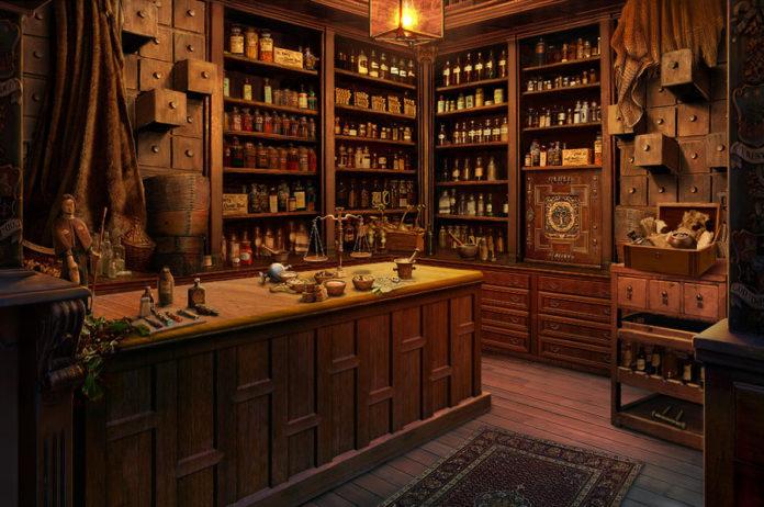 Аптеки Беларуси и старая библиотека