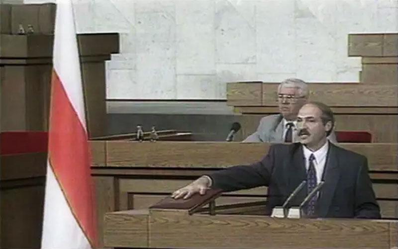 Присяга президента Беларуси