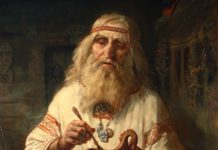 Знахарь или славянский волхв