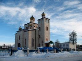 Церковь Спаса Преображения в Ветке. Ранее в Ветке был Покровский монастырь