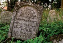 Старое кладбище в Гомеле еврейское