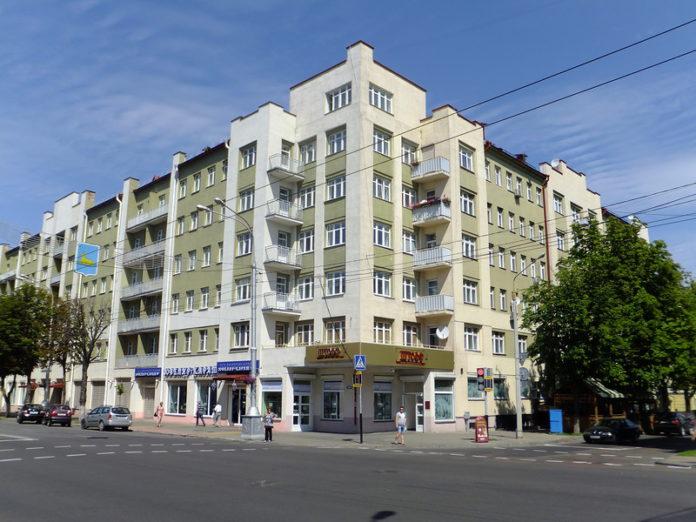 Дом-коммуна в Гомеле / Дом-камуна ў Гомелі і Станіслаў Шабунеўскі