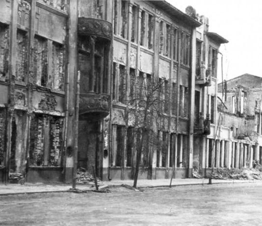 Гомель во время войны и улица Ланге