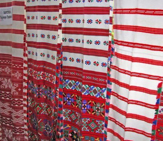 Рушники на Ветковщине в Беларуси и традиции ткачества