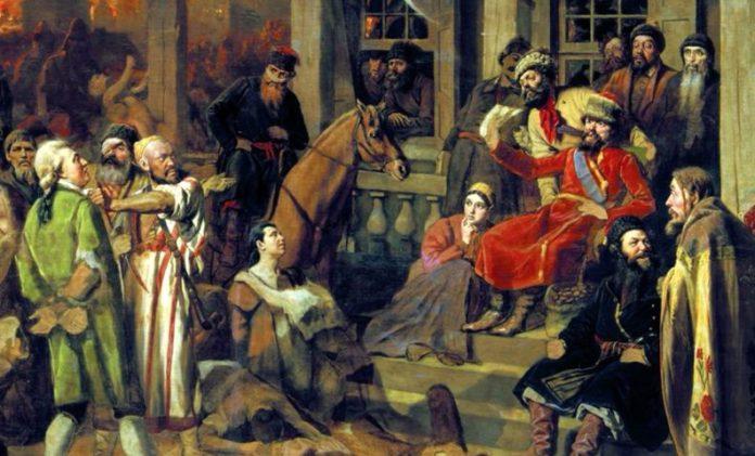 Крестьянский царь Емельян Пугачев