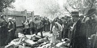 Ахвяры габрэйскага пагрома ў г. Беластоку ў 1906 і гомельскі пагром