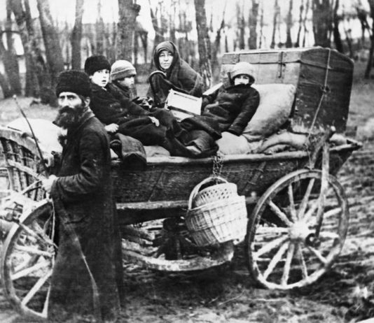 Беженцы в Гомеле