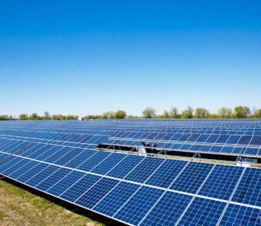 Солнечная электростанция в Брагине