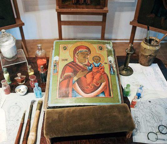 Особенности иконопись старообрядческих мастеров Ветки
