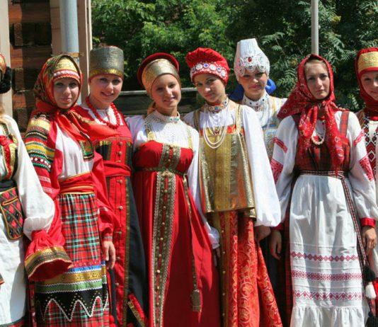 русское население на Мозырщине