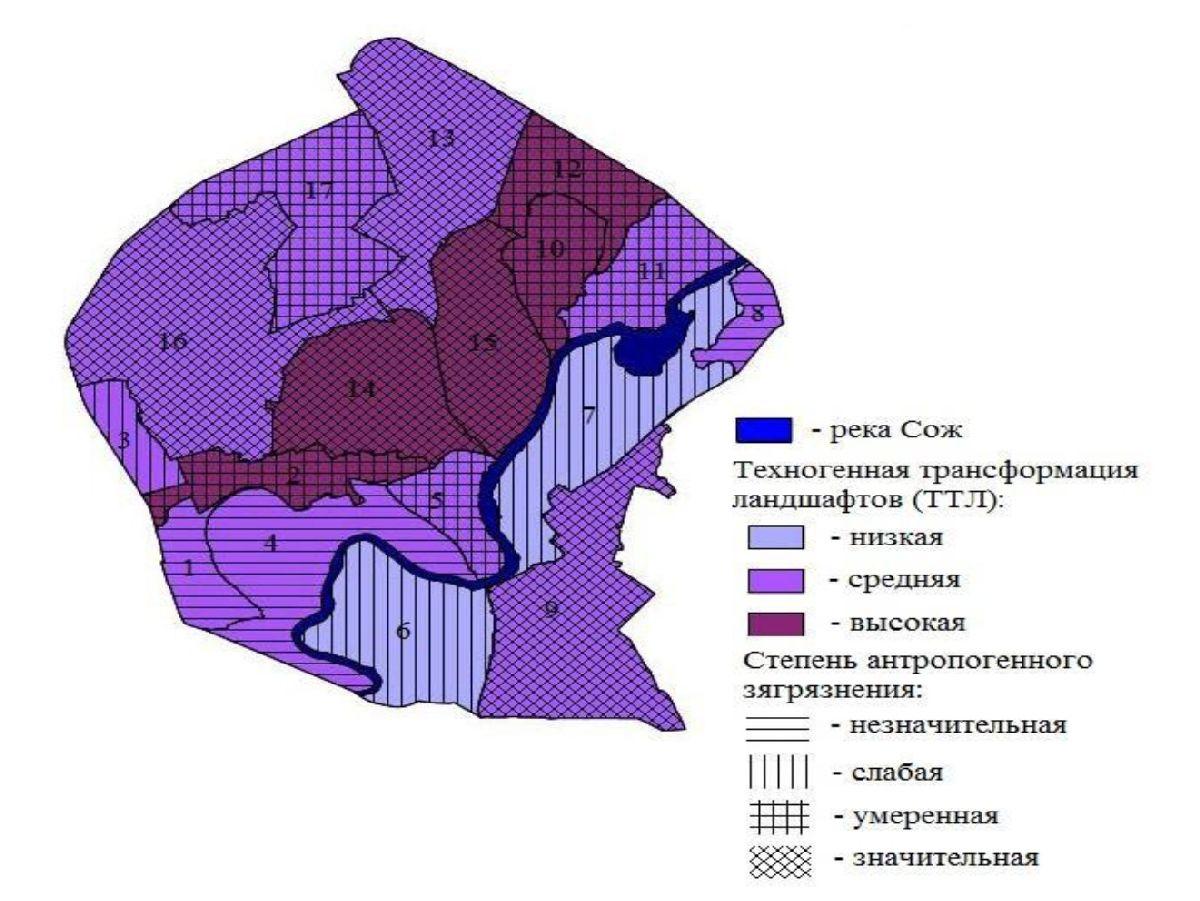 Геоэкологическая оценка урболандшафтов