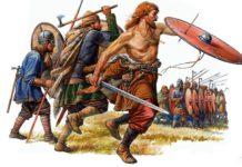 Мохов и древнеславянские воины