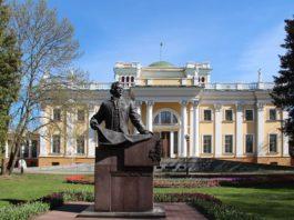 Румянцев и гомельский дворец