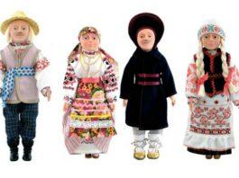Гомельская губерния и белорусский костюм