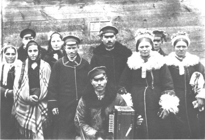 население пограничья Беларуси и Украины и России и брак и свадьба