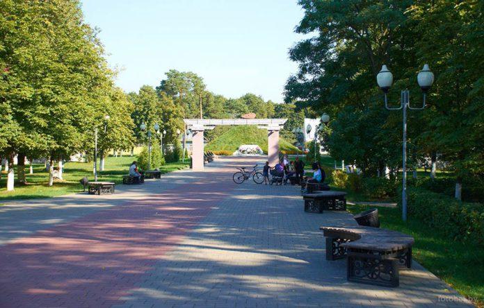 Рогачёв и его парки и сады