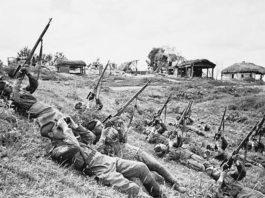 Дедловский гарнизон в Рогачёвском районе и война