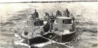 днепровская флотилия и канонерка
