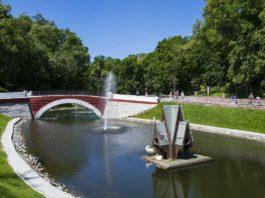 Лебяжий пруд Гомель и его история