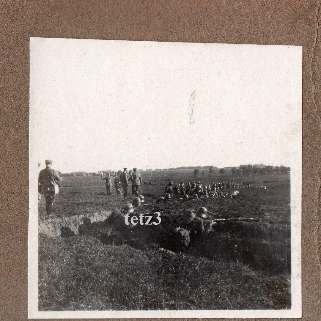 Баі альбо вайсковыя практыкаванні нямецкіх жаўнераў каля Гомеля ў 1918 г.