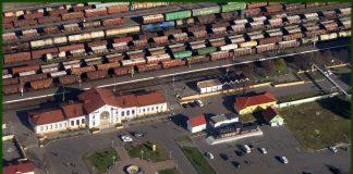 Евреи в Калинковичах и вид города сверху