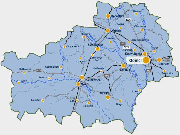 Население Гомельской области