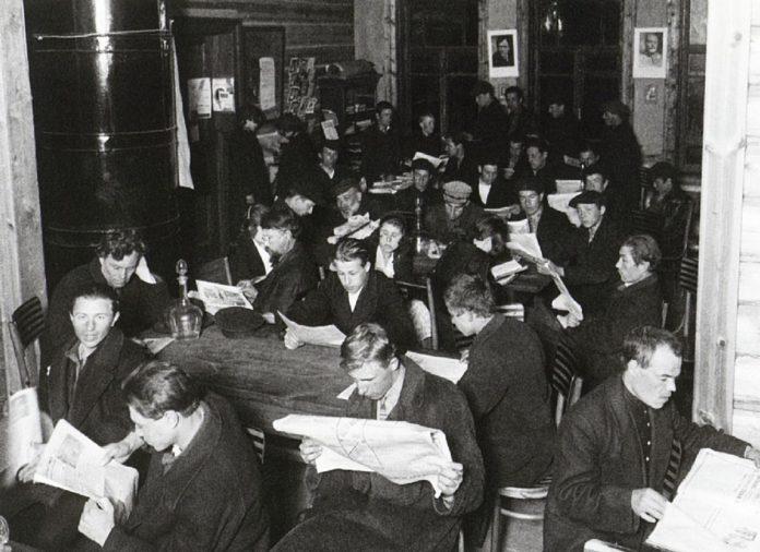 Изба-читальня как центр просветительской работы Гомельской области