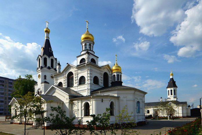 Свято-Никольский мужской монастырь в Гомеле фото