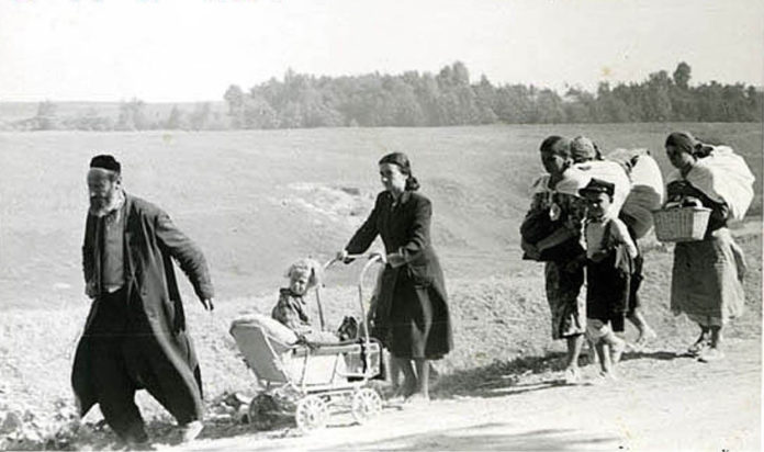 Эвакуация и бегство из Турова