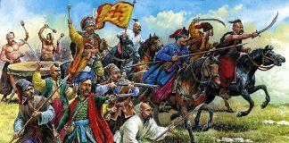 Казакі на Палессі летам 1648 года