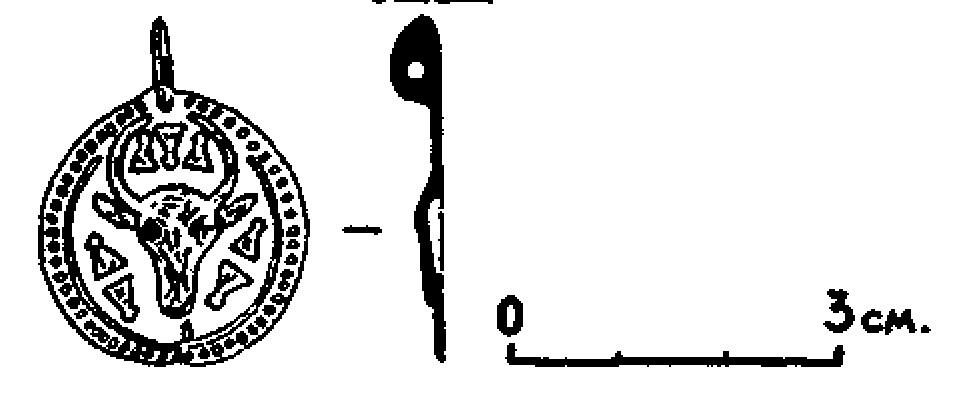 Рис. 5. Подвеска-турица из Борчи.
