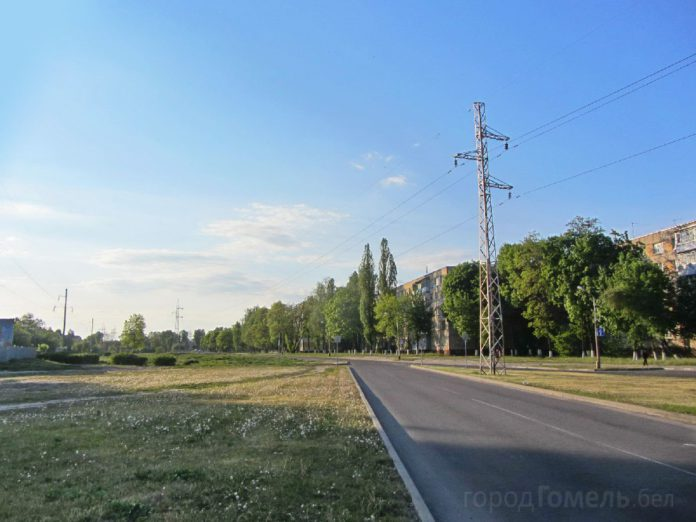 улица Жукова в Гомеле