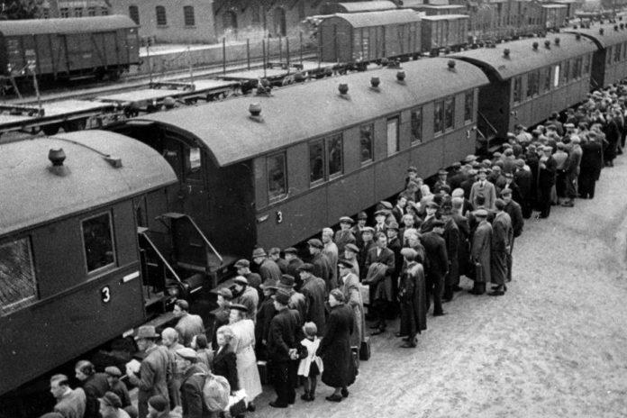 депортация немецкого населения и аресты советской властью