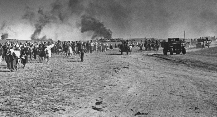 эвакуация населения из Гомеля во время войны