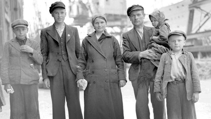 польскія бежанцы на Гомельшчыне ў 1939 г.