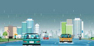 Атмосферные выпадения в Гомеле и дождь экология