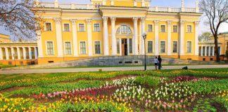 старый Гомель и дворец Румянцевых