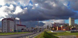 улица Фрунзе в Гомеле