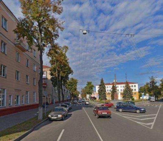 улица Карповича в Гомеле