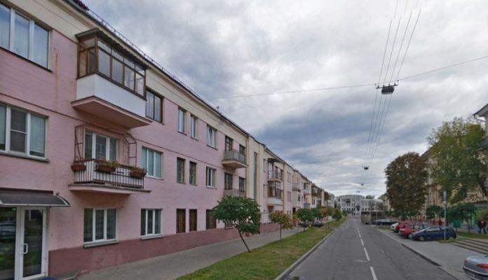 Улица Крестьянская в Гомеле