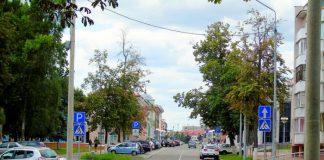 улица Ланге в Гомеле
