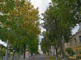 улица Баумана в Гомеле