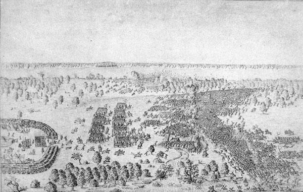 Бітва пад Лоевам 31 ліпеня 1649 г.(Dreścik, J. J. Kampanie wojsk Wielkiego Księstwa Litewskiego)
